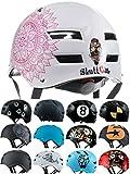Skullcap Casque BMX - Casque Skate - Casque Velo, Design: Mandala, Taille: L (58 – 61 cm)