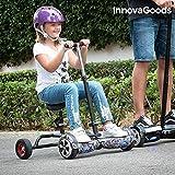 innovagoods ig115908Hoverbike pour Hoverboard, Mixte Enfant, Noir, Taille unique