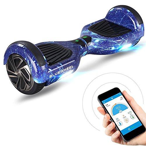 hoverboard bleu galaxy