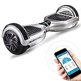 6.5' Gyropode Bluewheel HX310s Smart APP Self Balance Scooter Board, Marque Allemande avec Norme UL2272, Mode sécurité Enfant, Skateboard électrique, Bluetooth