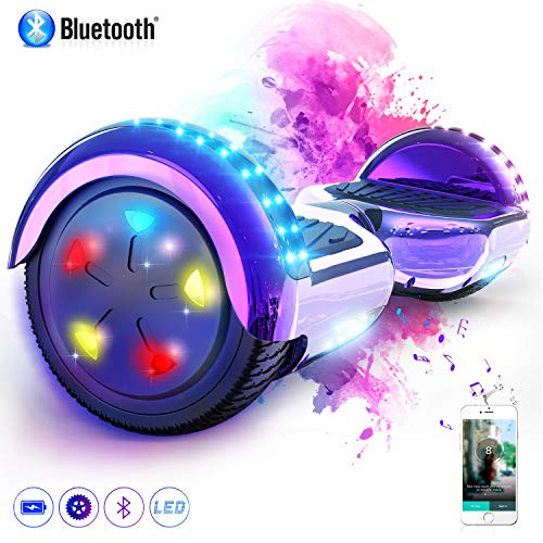 hoverboard violet bluetooth