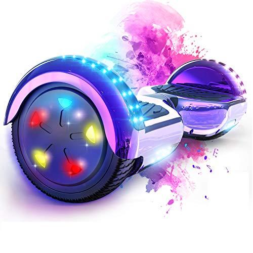 hoverboard violet bluetooth
