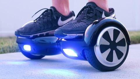 balanced scooter noir