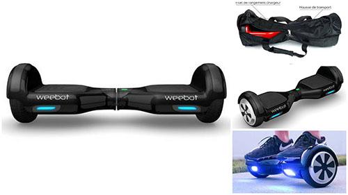 meilleur hoverboard classic 6,5 pouces noir