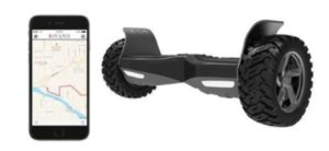 hoverboard tout terrain application iphone