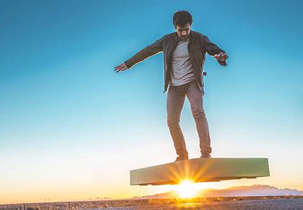 Arcaboard, le vrai hoverboard