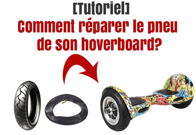 reparer pneu hoverboard