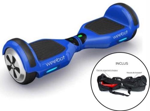 hoverboard 6,5 pouces bleu