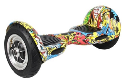 hoverboard bluetooth graffiti