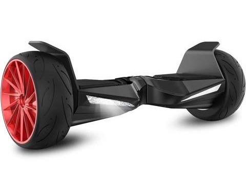 hoverboard hummer rouge et noir
