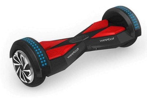 hoverboard 8 pouces Weebot Wave Noir et Rouge