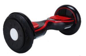 Hoverboard tout terrain bluetooth Nano rouge et noir