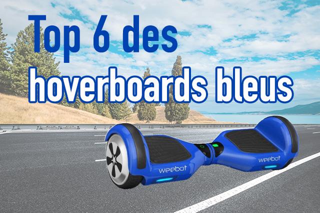 hoverboard bleu