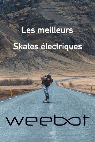 les meilleurs skates électriques