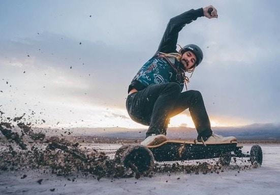 skate electrique tout terrain