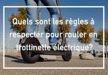 reglementation trottinette électrique