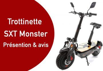 Trottinette électrique SXT Monster : avis et présentation
